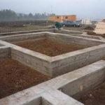 Фундамент дома глубина