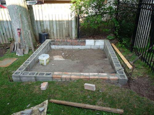 Как сделать фундамент под сарай на даче своими руками