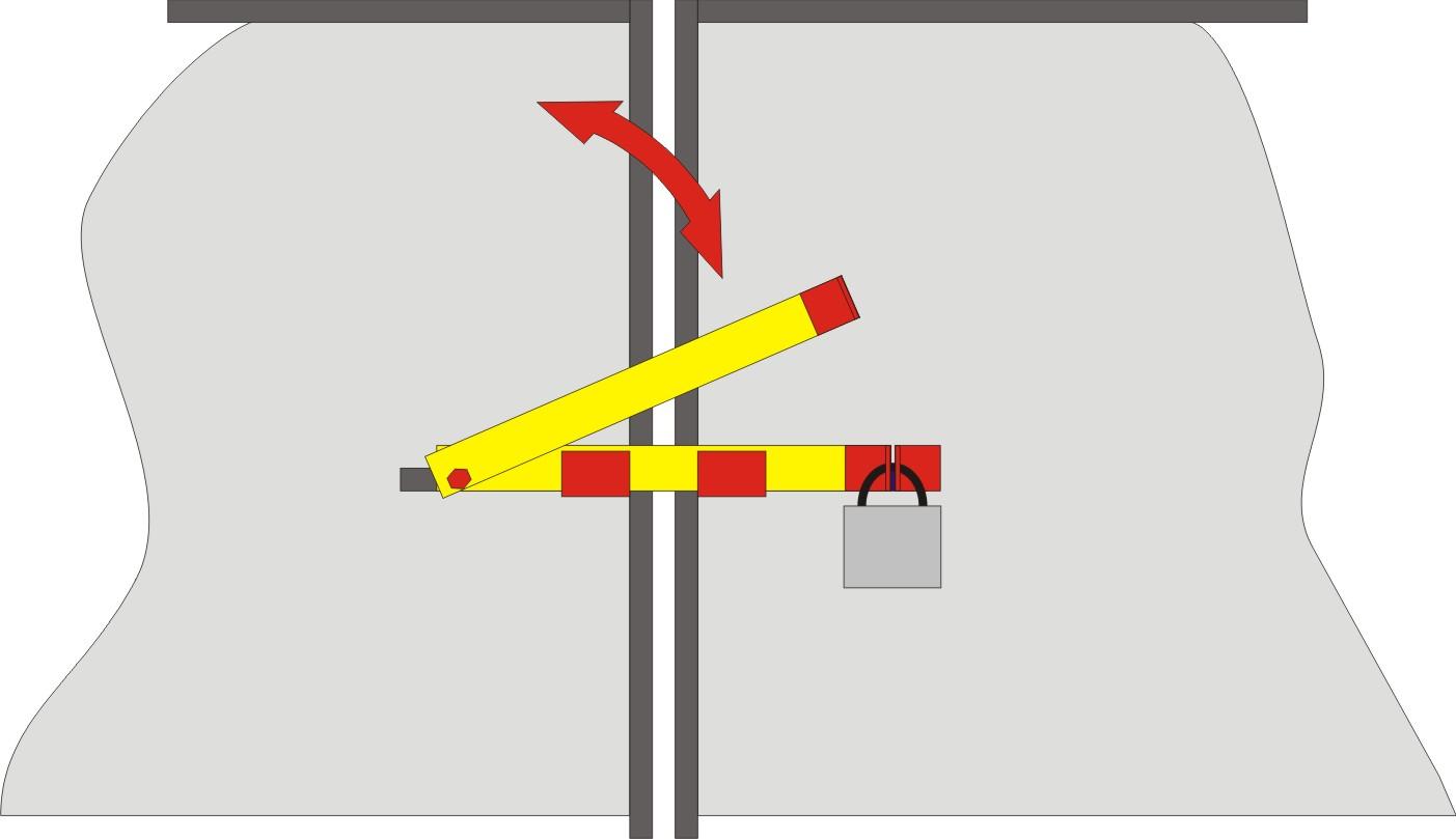 Как сделать запор на ворота