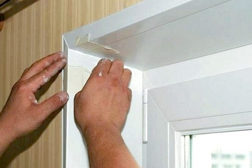 Пластиковые уголки для стен цветные и белые