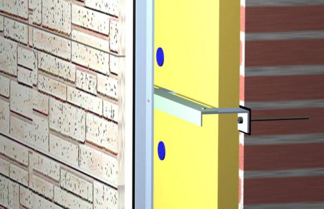 Схема монтажа фиброцементных плит