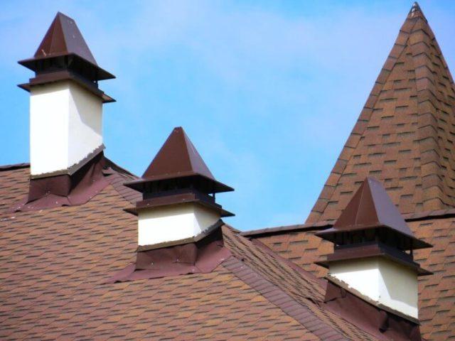 Герметизация трубы на крыше