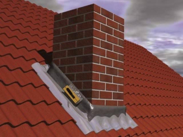 Способы герметизации трубы на крыше