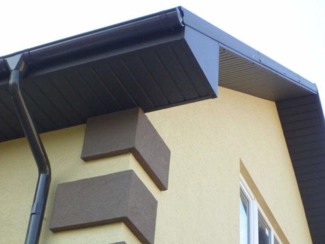 Подшивка для крыши