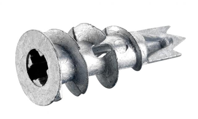 Использование дюбеля для двойного гипсокартона обеспечивает удобный и надежный монтаж