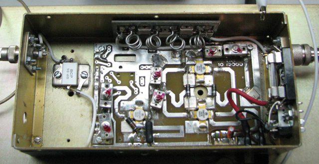 Внутри составляющие электромеханического замка