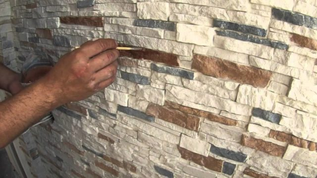 Лак для покраски декоративного камня мастика акриловая декопроф