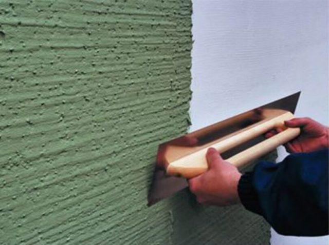 Фасадная шпаклевка — это еще и декоративное украшение здания