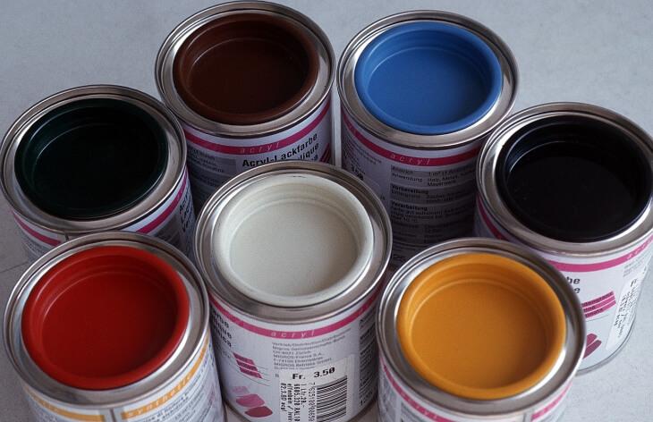 Термостойкие краски по металлу продаются в широкой палитре оттенков