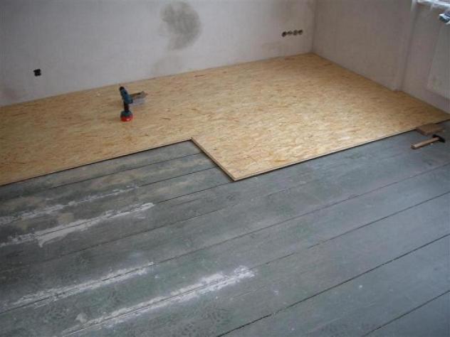 Как постелить пол из ОСБ плит — пошаговая инструкция по укладке