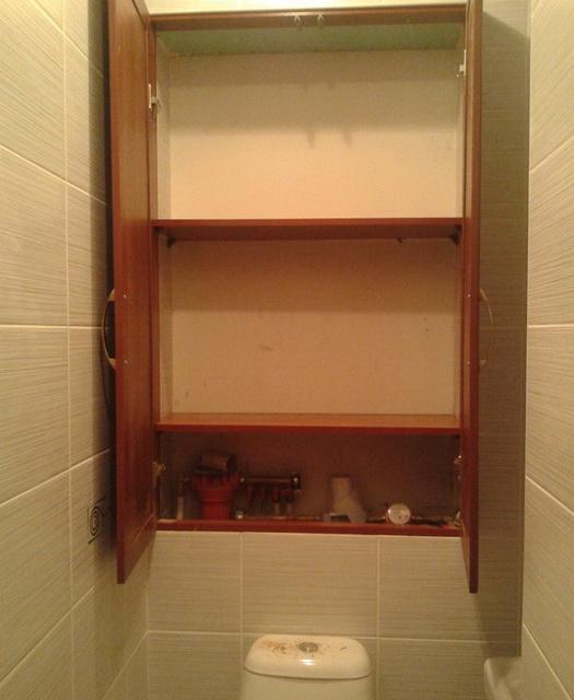 Шкафчик в туалет своими руками в домашних условиях