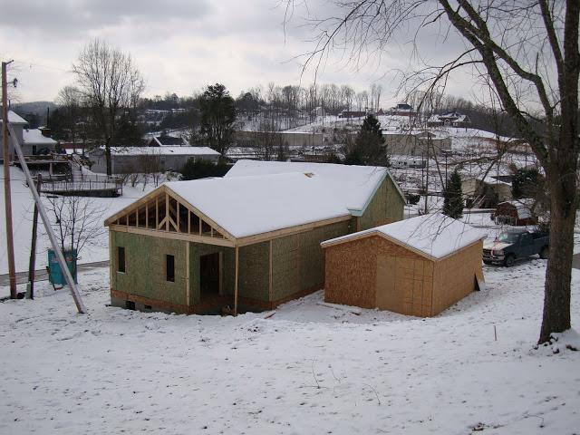 Крыша из СИП-панели