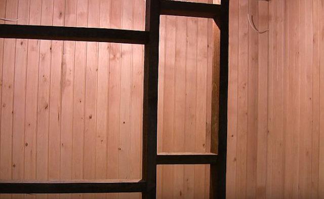 Делаем 3 слоя для отделки стен
