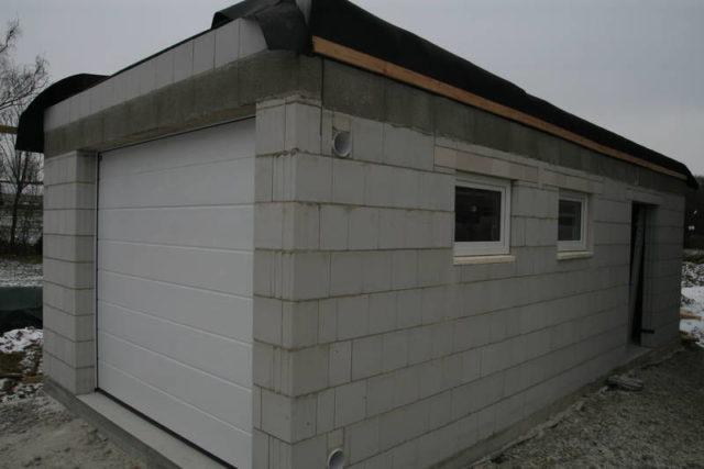 Строительство гаража с нуля