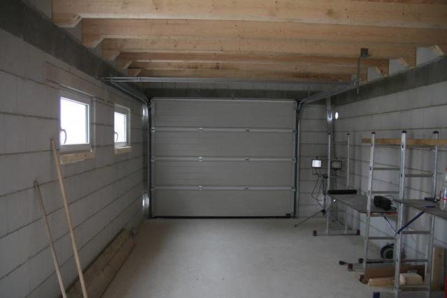 Утепленный гараж