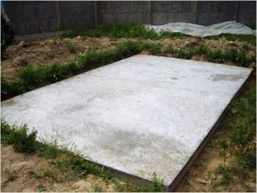 Монолитный фундамент необходим для возведения массивных сооружений