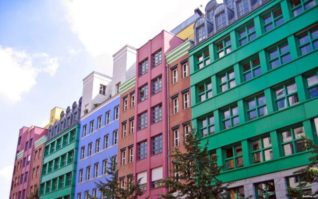 Алкидные фасадные краски применяются давно