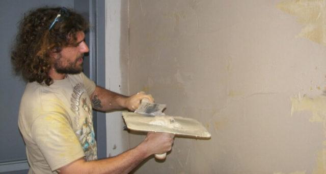 Наружная отделка стен шпаклевкой