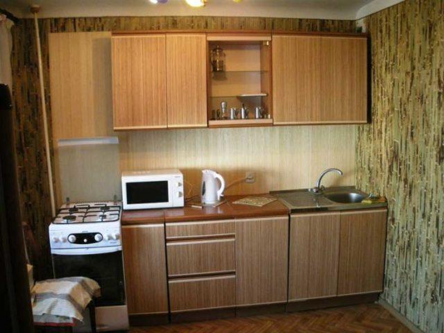 Бамбуковые панели в интерьере кухни