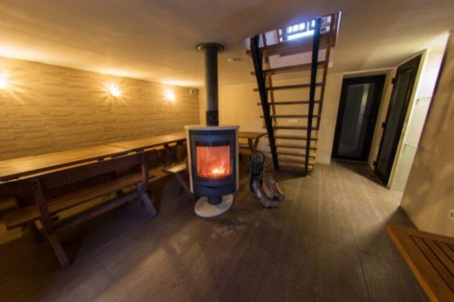 Устроить баню в подвале — удобное и интересное решение