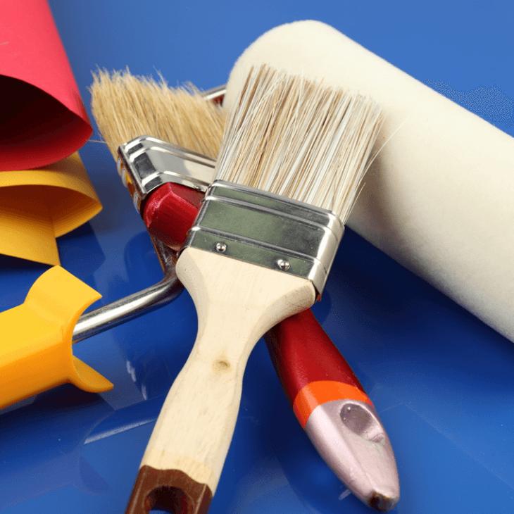 Инструмент для покраски деревянного дома