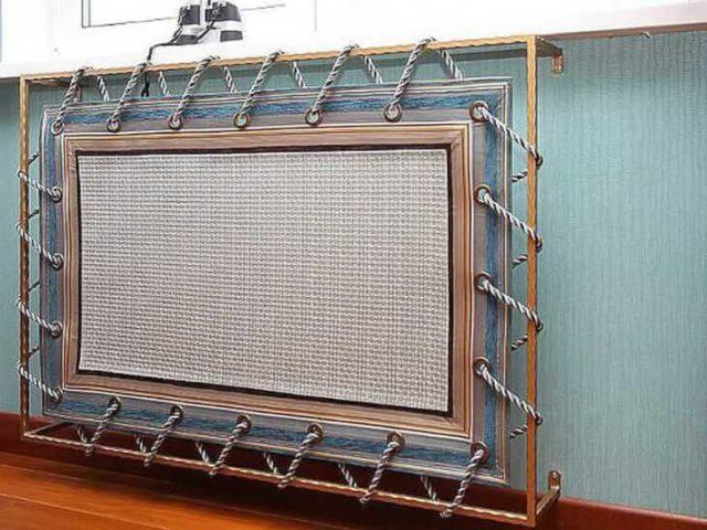 Закрываем батареи системы отопления декоративными решетками