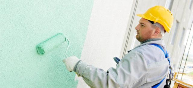 Вододисперсионная краска для отделки стен