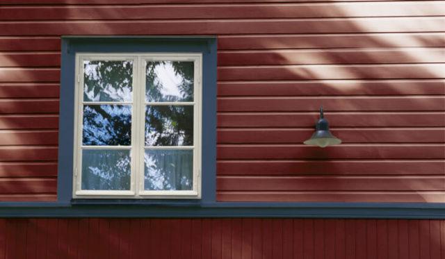 Краски для отделки фасада дома