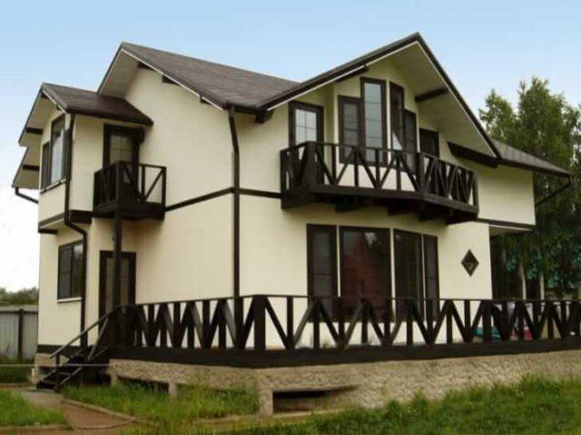 Краска для фасадов домов
