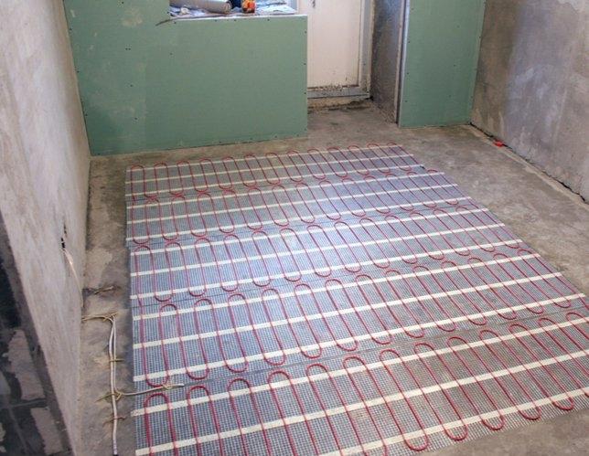 Электрический пол на основе нагревательных матов - лучшее решение для небольших площадей