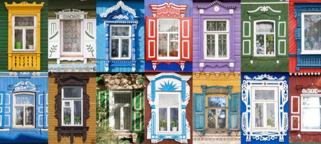 Наличники — важный традиционный элемент фасада дома