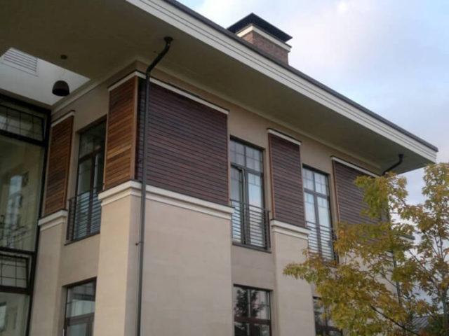 Фасадная доска и планкен из термодревесины