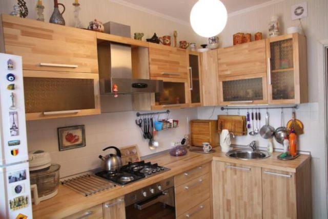 Самостоятельная отделка кухни и фасада