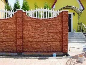 Декорирование бетонной стены