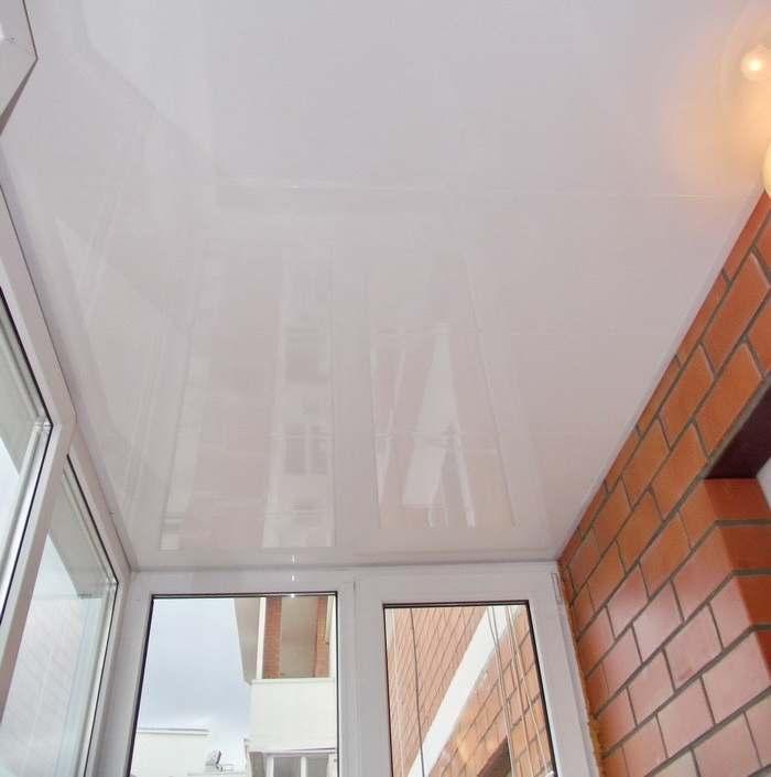 Подшивка и отделка потолков на балконах и лоджиях