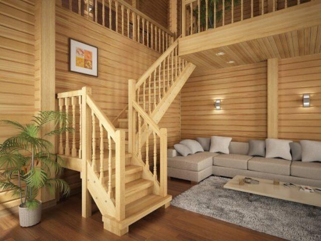 Как крепить имитацию бруса внутри дома?