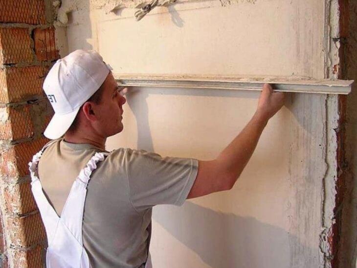 Как выровнять стены в коридоре своими руками 4