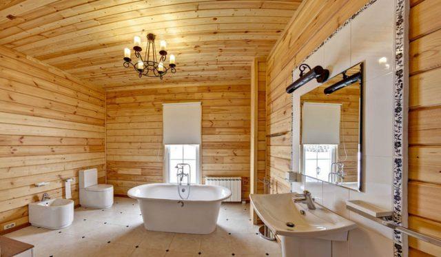 Как положить плитку на деревянный пол в ванной комнате
