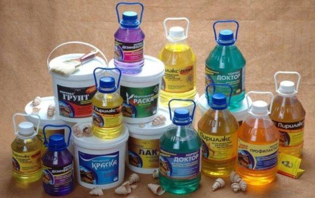 Ассортимент краски для внутренних работ