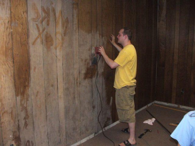 Подготовка поверхности под покраску