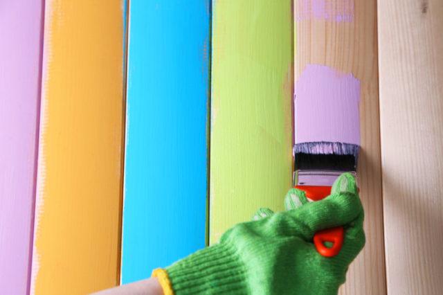 Краска для деревянных поверхностей