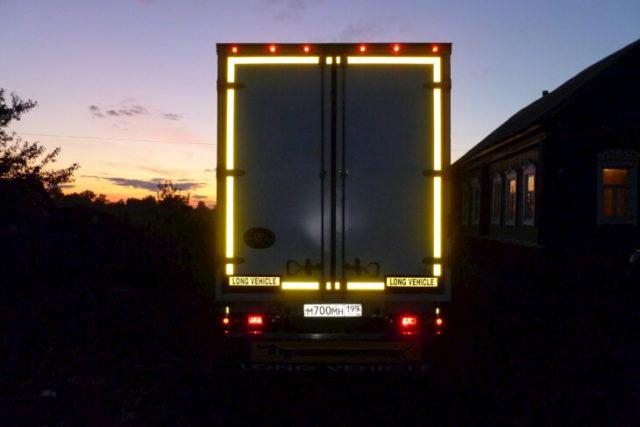Краска светоотражающая для автотранспорта