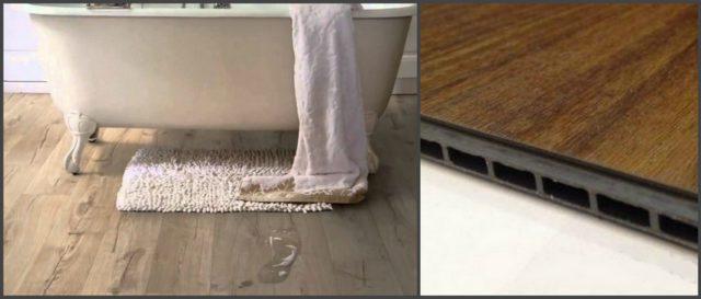Ламинат водостойкий для ванной