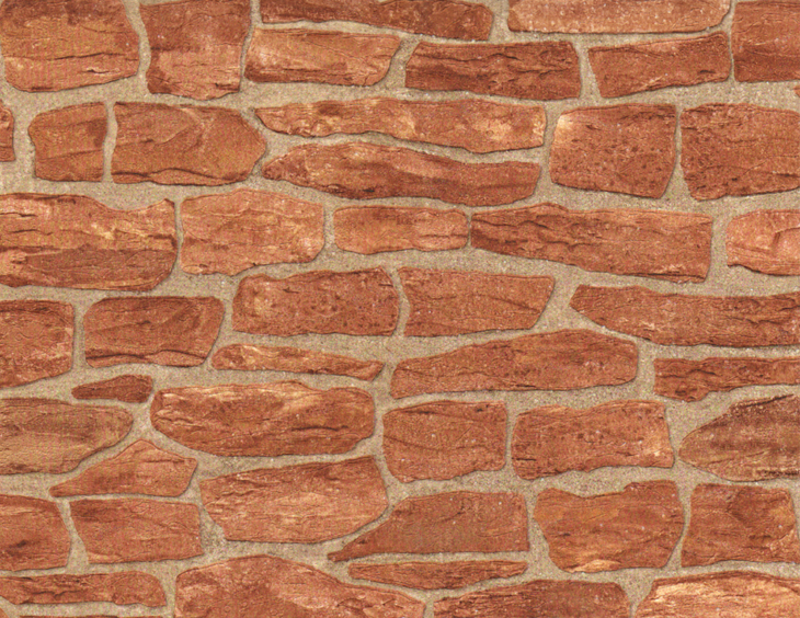 Обои под камень для отделки стен