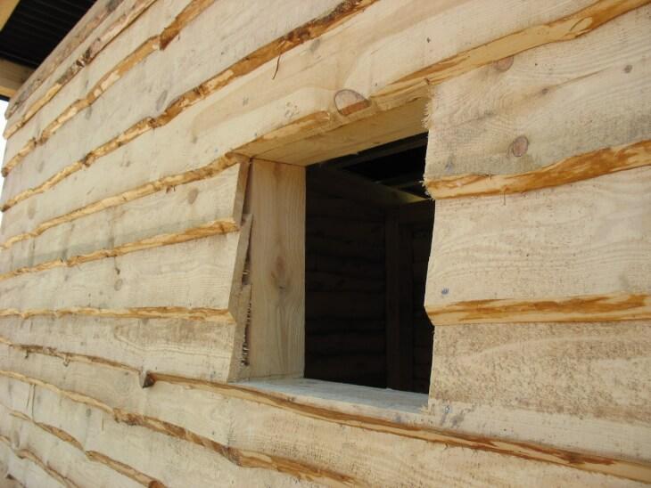 Штукатурка деревянных стен 40