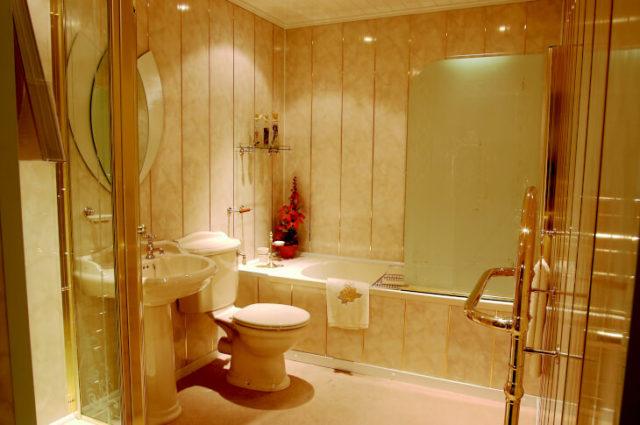 Стеновые панели для отделки ванной