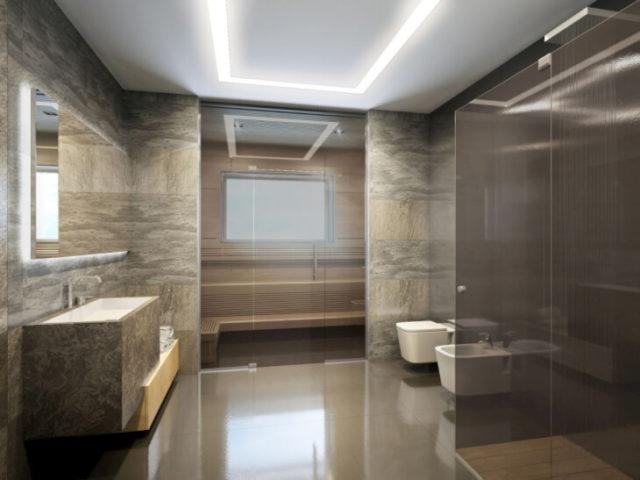 Отделка ванных комнат стеновыми панелями