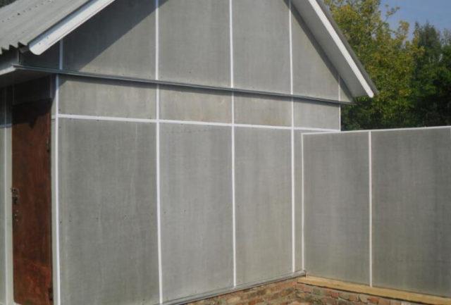 Применение асбестоцементных плоских листов для облицовки сооружений