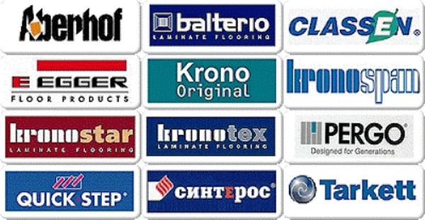 Некоторые марки представленные на российском рынке