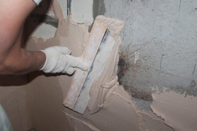 Отделка стен штукатуркой Rotband